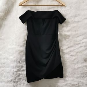 NWT Formal Off-The-Shoulder Asymetric  Dress